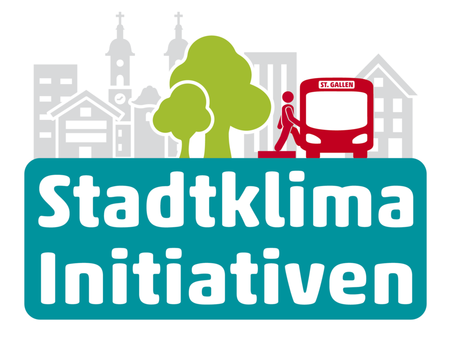 Logo der Stadtklima-Initiative St. Gallen